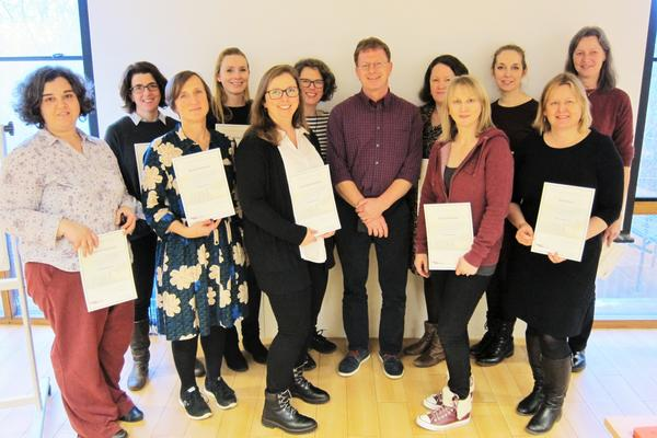 cohort 1 practitioners complete training