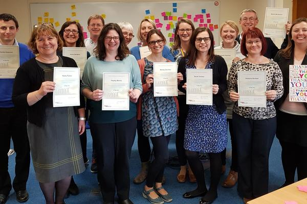 cohort 2 practitioners complete training